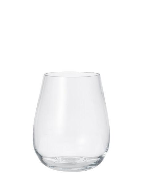 Vas Wilma, Höjd 19 cm, Transparent