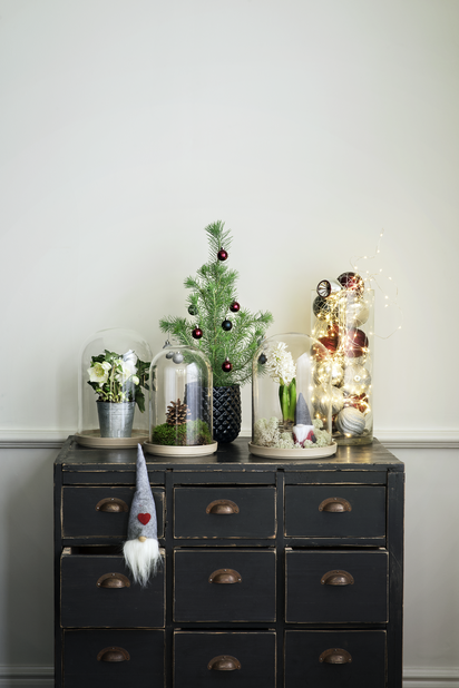Julros 'Christmas Carol', Ø9 cm, Vit