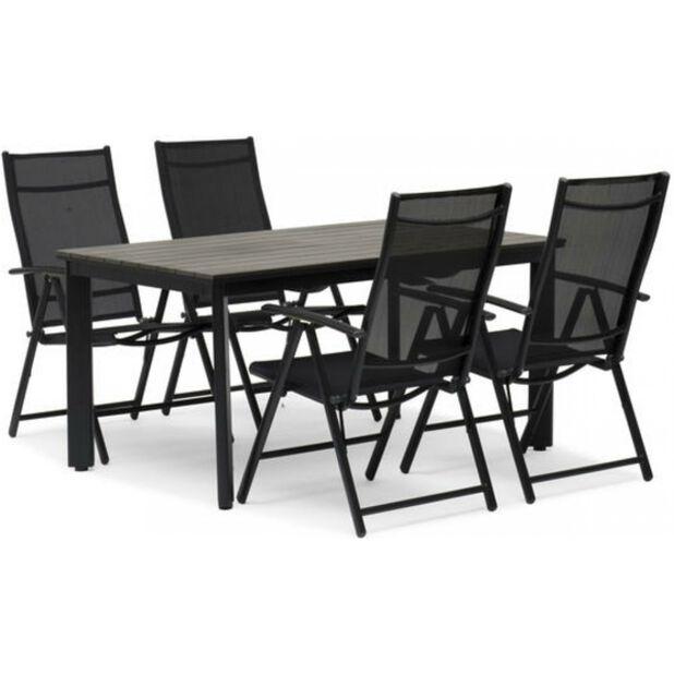 Stol Blackstone, svart