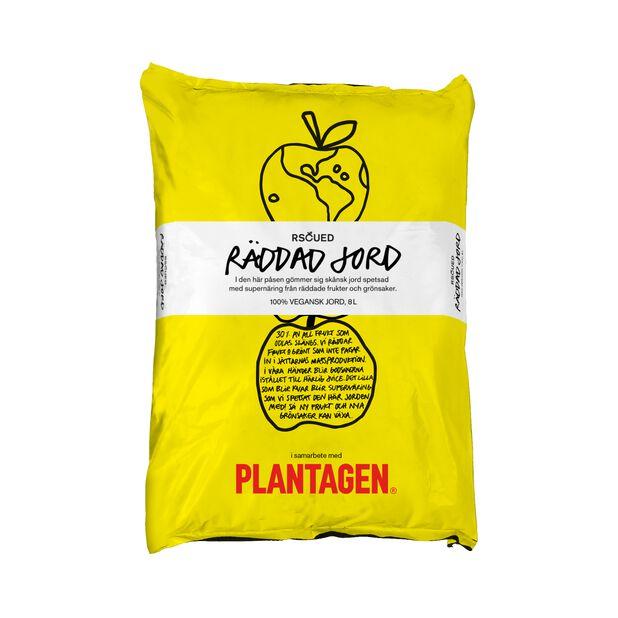 Vegansk Blomjord Rscued, 8 L, Gul