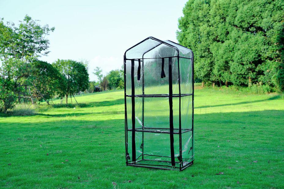 Miniväxthus, Höjd 125 cm, Transparent