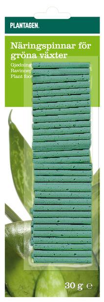 Näringspinnar Gröna växter, 30-pack, Grön