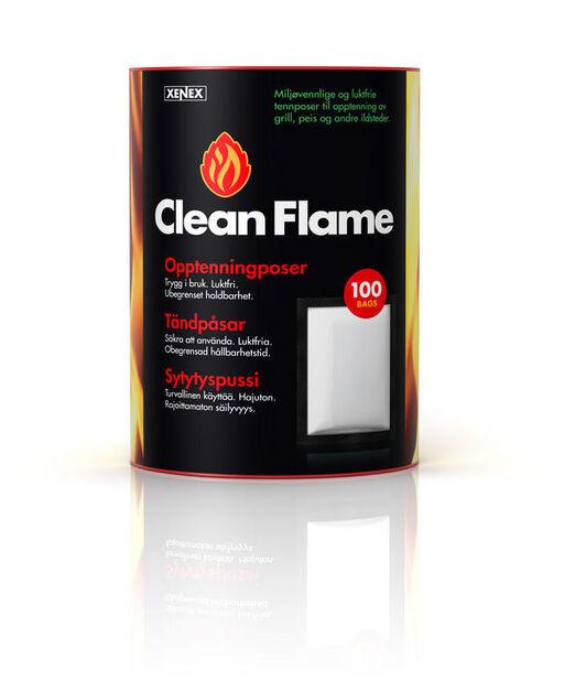 Tändpåse Clean Flame 100-p