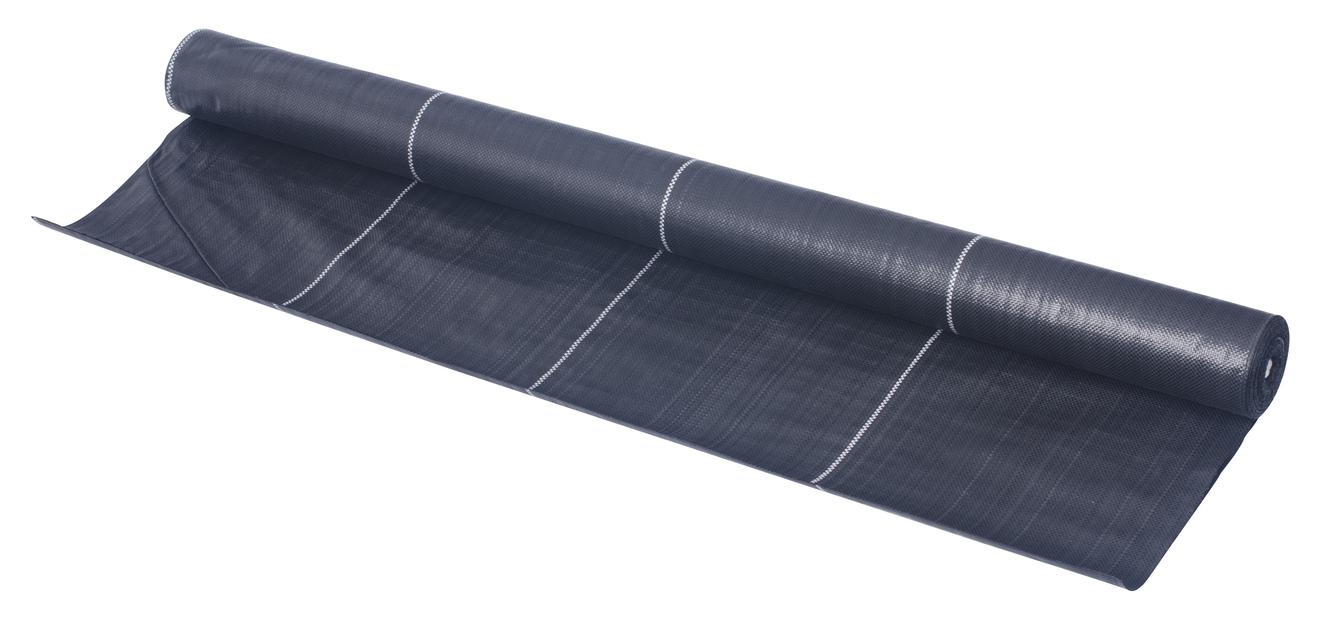 Marktäckväv 30m2, 100g/m2 svart