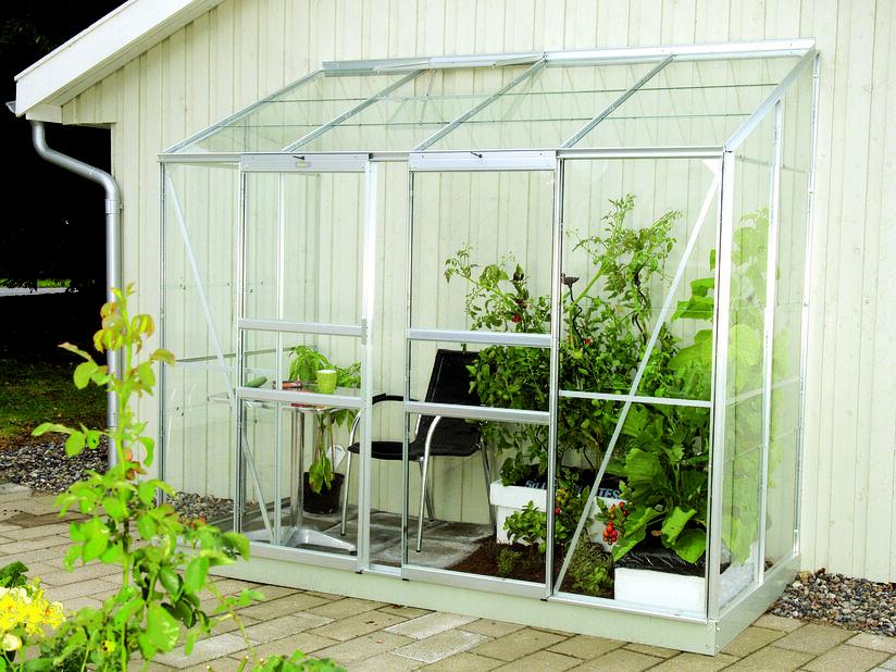 Greenhouse Ida 3300 with glass