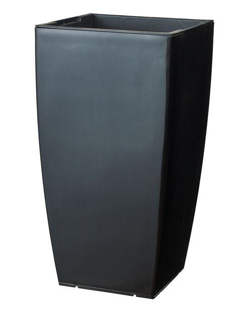 Kruka Leva självbevattnande, Ø31 cm, Svart