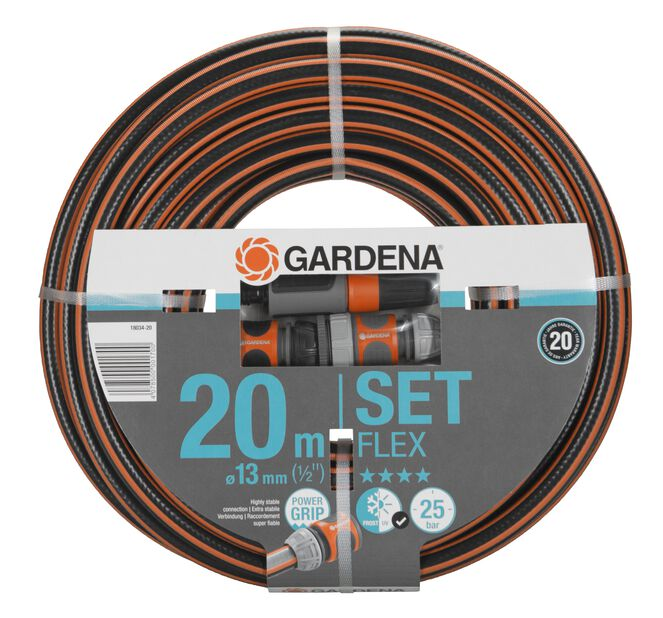 "Slangset ComfortFLEX 20M 1/2"" Gardena, 20 ml"