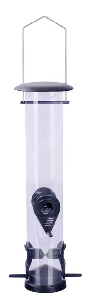 Fågelmatare frön, Höjd 39.5 cm, Svart