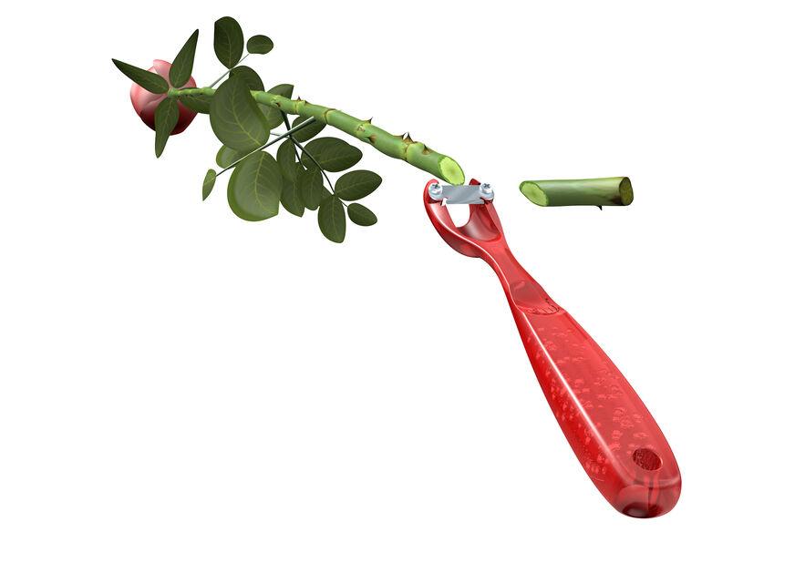 Snittblomsterkniv Flower Power, Längd 15.5 cm, Flera färger
