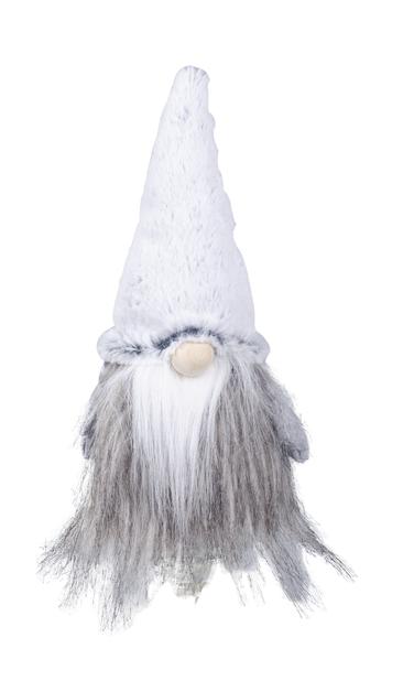 Tomte Agnar, Höjd 23 cm, Grå