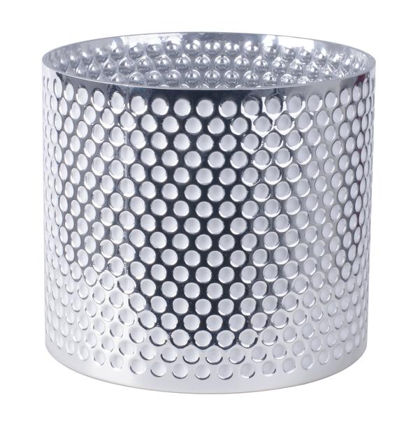 Kruka Glamour, Ø19 cm, Silver