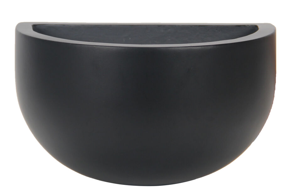 Väggkruka Nova, Ø30 cm, Svart