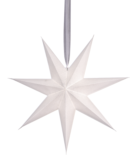 Adventsstjärna Alice, Ø60 cm, Vit