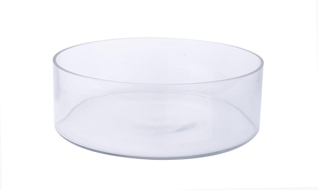 Skål, Ø30 cm, Transparent