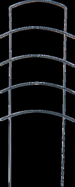 Spaljé Ortus, Höjd 58 cm, Grön
