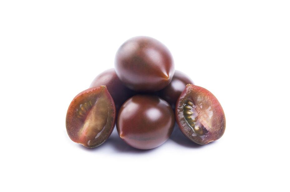 Körsbärstomat 'Chocolate Cherry', Ø10.5 cm, Svart