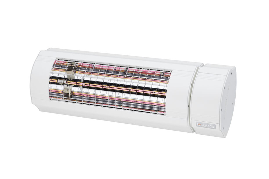 Värmelampa ECO+ PRO BTC 2000 Solamagic, Längd 52 cm, Vit