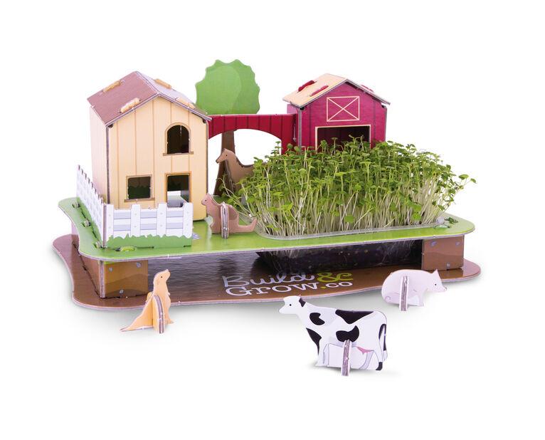 3D odlingspussel Bondgård