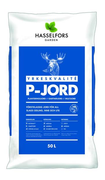 P-Jord, 50 L, Flera färger