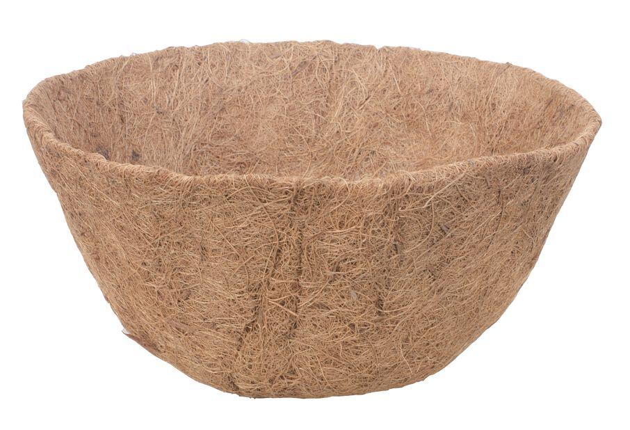 Kokosinlägg, Ø30 cm, Brun