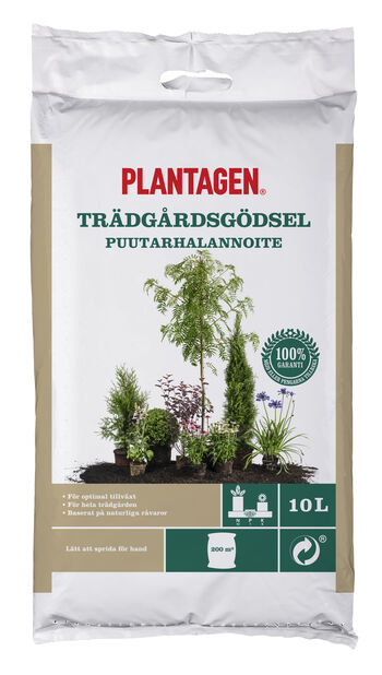 Trädgårdsgödsel, 10 L, Flerfärgad