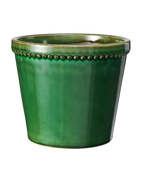 Kruka Elliot, Ø20 cm, Grön