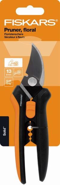 Blomsax Solid SP14 Fiskars, Längd 24 cm, Svart