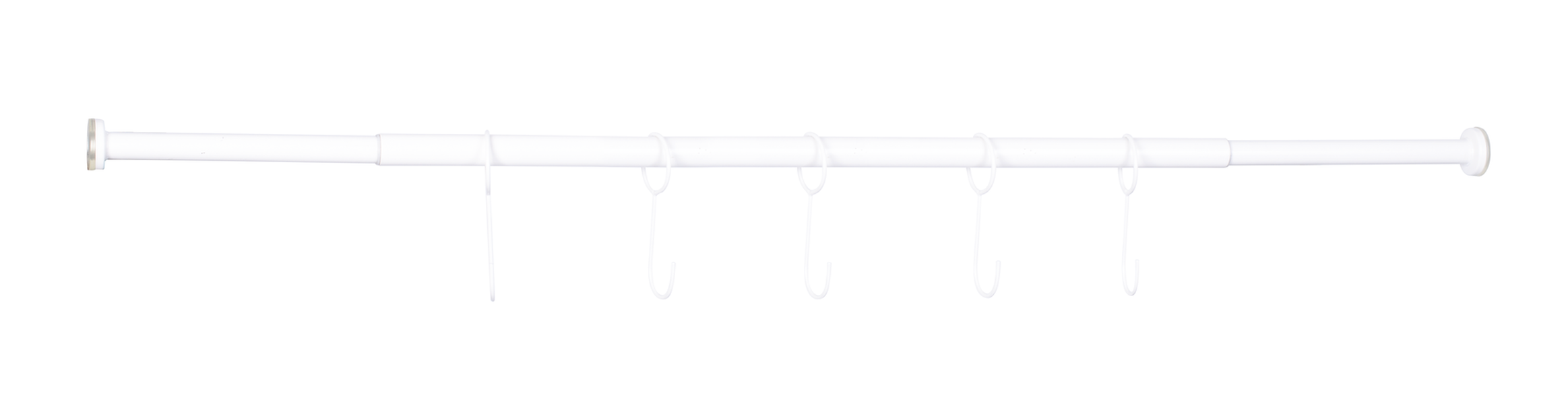 Situne fönsterstång, Längd 140 cm, Vit