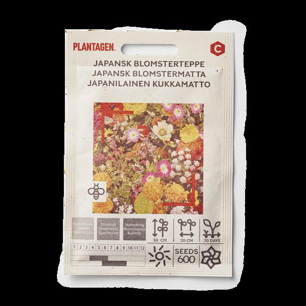 Japansk blomstermatta