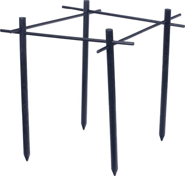 Växtstöd bärbuskar, Längd 75 cm, Svart