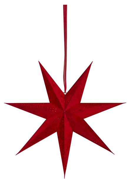 Sammetsstjärna, Röd