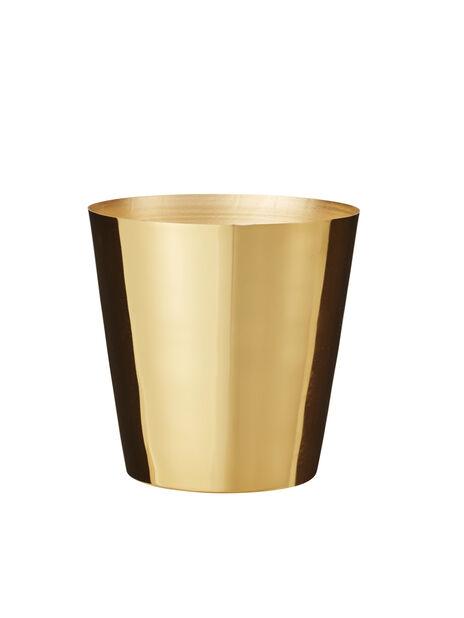Kruka Noelle, Ø13 cm, Guld
