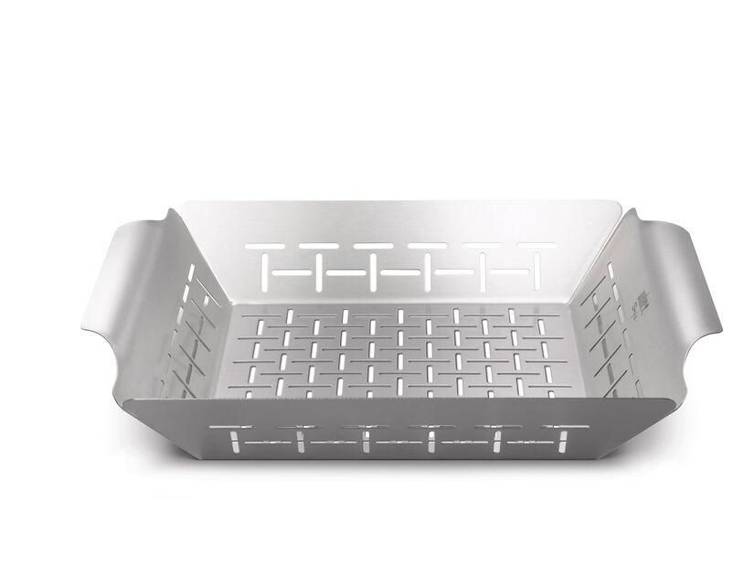 Bbq Basket For Vegetables, Svart