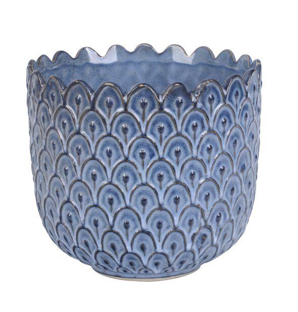 Kruka Victoria, Ø17.5 cm, Blå