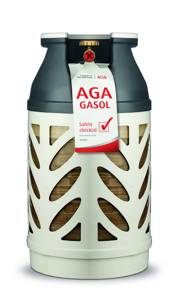 Aga Composite Bottle  With Propane 10Kg