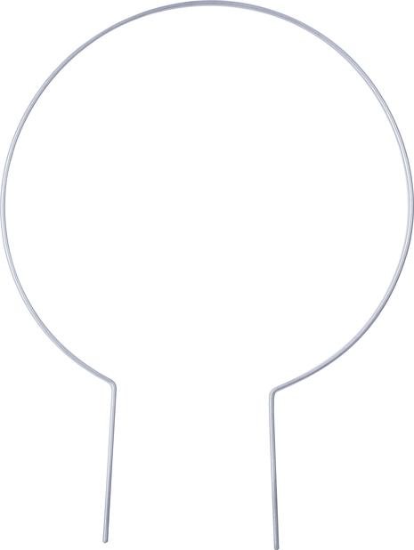 Växtstöd rund  , Höjd 37 cm, Grå