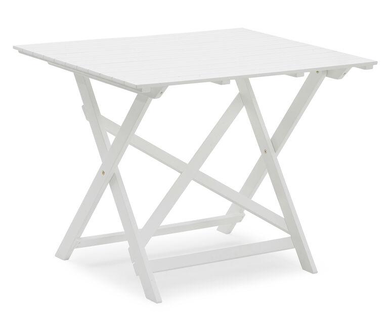 Balkongbord Malva, Längd 95 cm, Vit