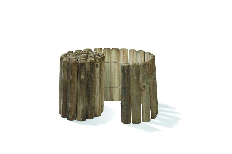 Träkant, Längd 200 cm, Beige