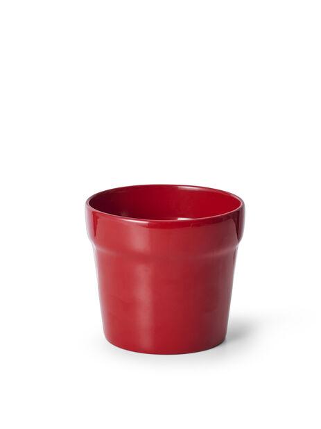 Kruka Lena, Ø14 cm, Röd