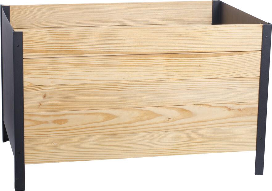 Pallkrage på ben Cultura 78x48x52 cm
