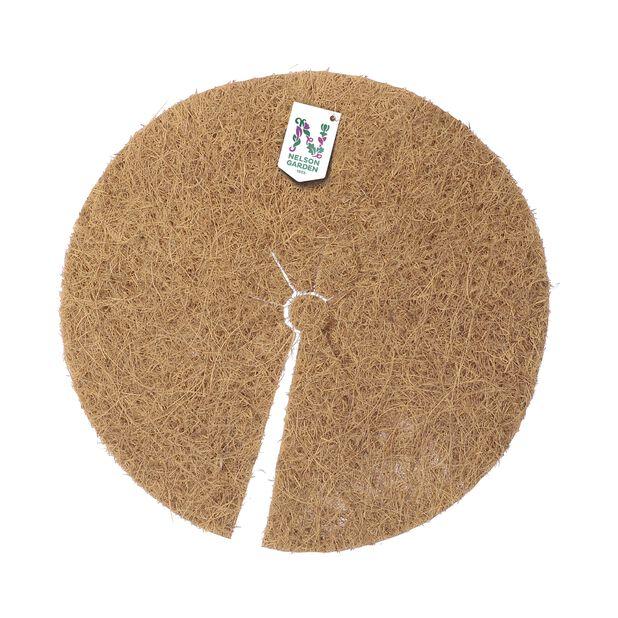 Ogrässkydd kokosmatta, Längd 37 cm, Brun