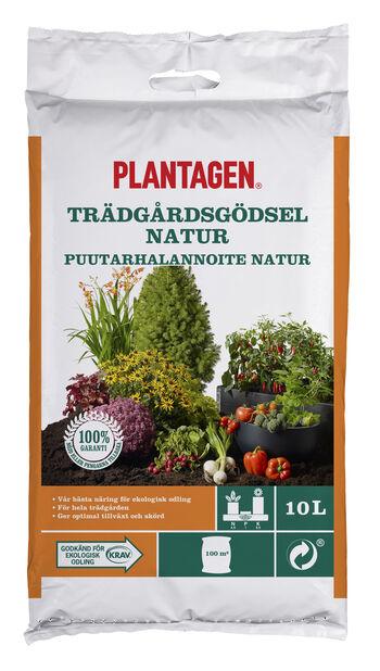 Gödsel Organisk KRAV, 10 L, Flerfärgad