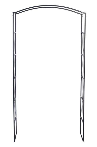 Rosportal, Höjd 220 cm, Svart