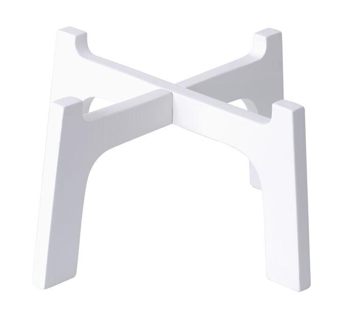 Piedestal Bella , Ø30 cm, Vit
