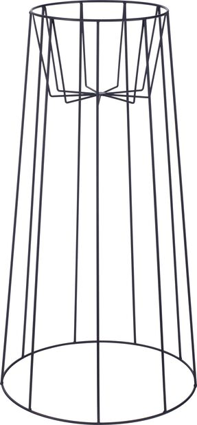 Piedestal Danny , Höjd 75 cm, Svart