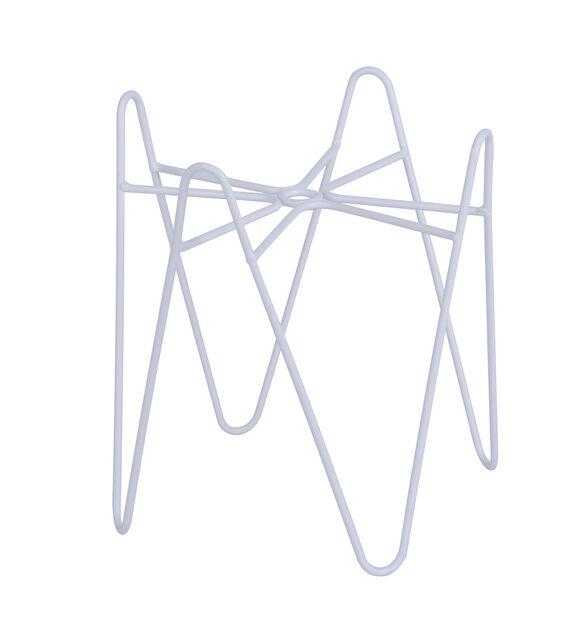 Piedestal Wilmer, Höjd 20 cm, Vit