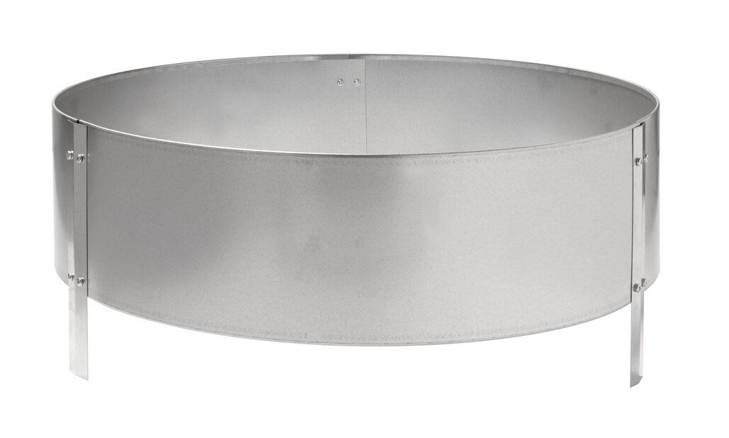 Odlingskrage zink, Ø60 cm, Silver