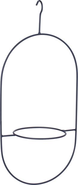 Krukhållare Nike, Höjd 45.5 cm, Svart