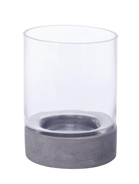 Ljushållare Hera, Höjd 20 cm, Grå