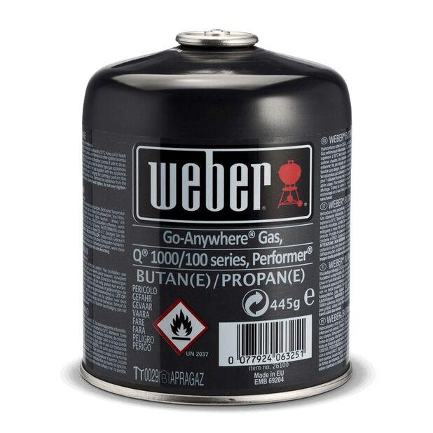 Gasolflaska Weber, 445 g, Flerfärgad